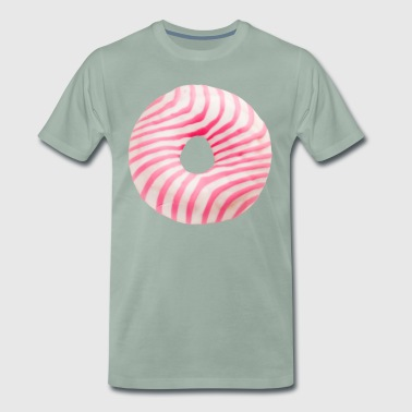 Den Mighty Donut - Premium-T-shirt herr