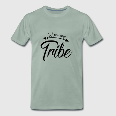 I Love My Tribe - Family Reunion - Men's Premium T-Shirt