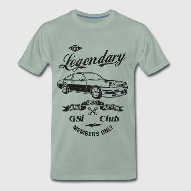Manta GSi Legendary CLUB - Männer Premium T-Shirt