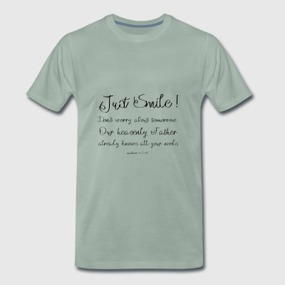 Just Smile! - Men's Premium T-Shirt
