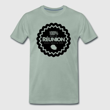 100% MADE IN REUNION Collection - Men's Premium T-Shirt