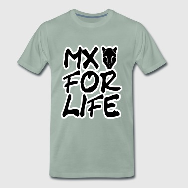 MX For Life Motocross T-Shirt Sweater Top Design - Men's Premium T-Shirt