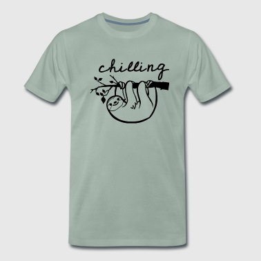 chilling - Men's Premium T-Shirt