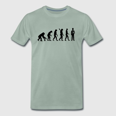 Evolution poker poker b - T-shirt Premium Homme