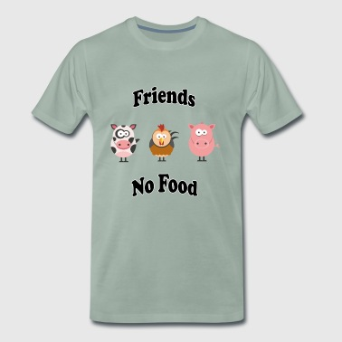 Friends - No Food - Männer Premium T-Shirt