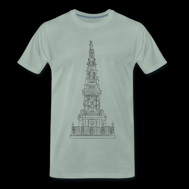 obelisk of Naples - Naples' obelisk - Men's Premium T-Shirt