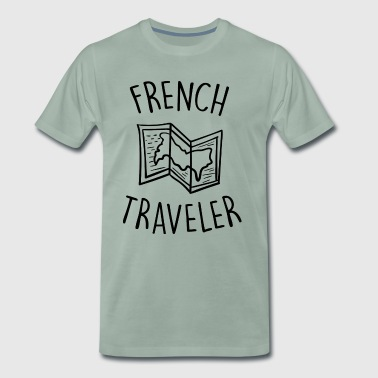 french traveler - T-shirt Premium Homme