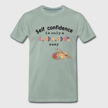 self confidence self-confidence - Men's Premium T-Shirt