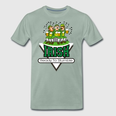 Irish Ready To Stumble - T-shirt Premium Homme