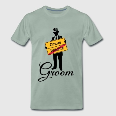 Circus Wildlife Groom (Bridegroom / Stag Party) - Men's Premium T-Shirt