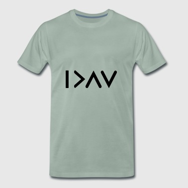 I'm more than the / my highs and lows - Men's Premium T-Shirt