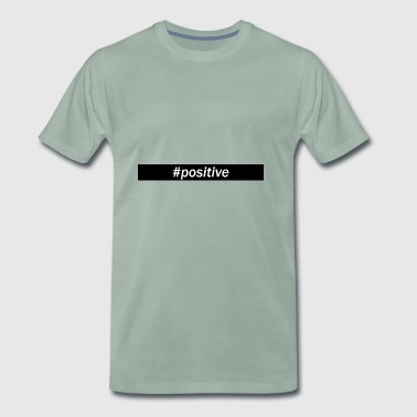 Hashtag positive - Men's Premium T-Shirt