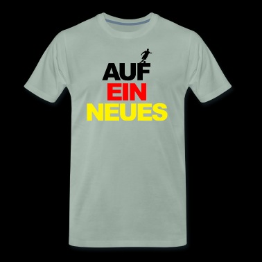 European Championship on a new world champion football Germany - Men's Premium T-Shirt