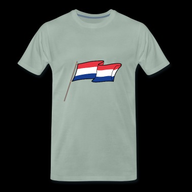 Holland Flagge - Männer Premium T-Shirt