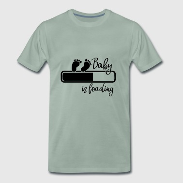 Pregnancy Pregnant baby gift for mothers - Men's Premium T-Shirt