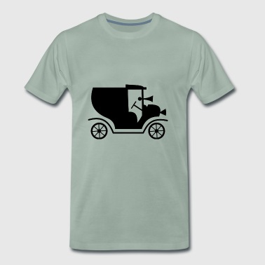 Car retro automobile vintage car - Men's Premium T-Shirt