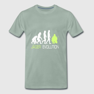 Evolution - Hunting T-shirt voor jagers Gift - Mannen Premium T-shirt
