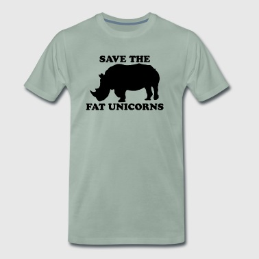 Fat unicorn - Men's Premium T-Shirt