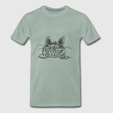 Cheshire Cat - T-shirt Premium Homme