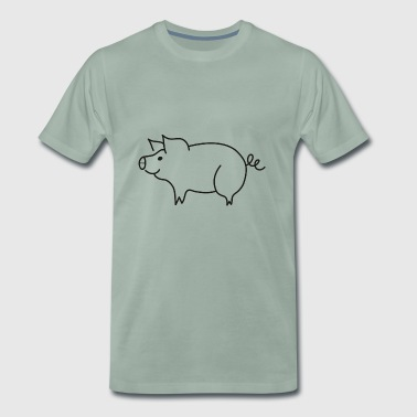 Sweet piglet - Men's Premium T-Shirt