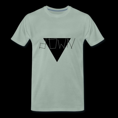 down - Men's Premium T-Shirt