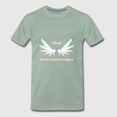 Alfred the Man behind the Legend - Men's Premium T-Shirt