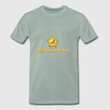 Leveling Up To Dad Gift - Men's Premium T-Shirt