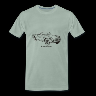MG MGB - Men's Premium T-Shirt