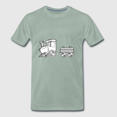 locomotive - T-shirt Premium Homme