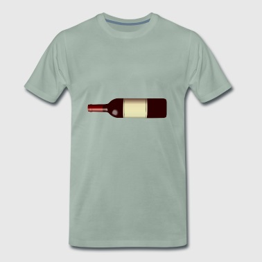 wine bottle - Men's Premium T-Shirt