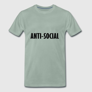 anti social - Men's Premium T-Shirt