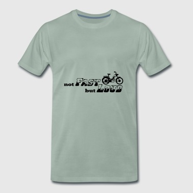 Slowrider Mofa Power not Fast, but Loud - Männer Premium T-Shirt