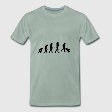 Evolution Development Progress man bonde - Premium-T-shirt herr