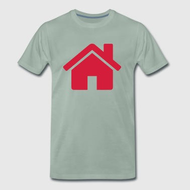 Home Red - Premium-T-shirt herr