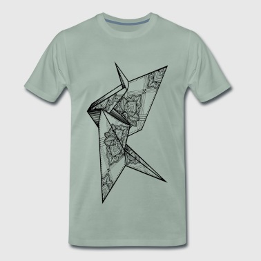 Insane Crane - Men's Premium T-Shirt