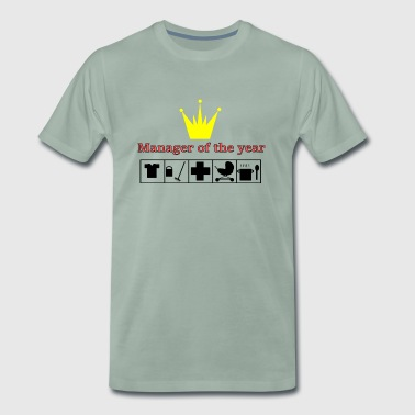 Manager of the Year - Herre premium T-shirt