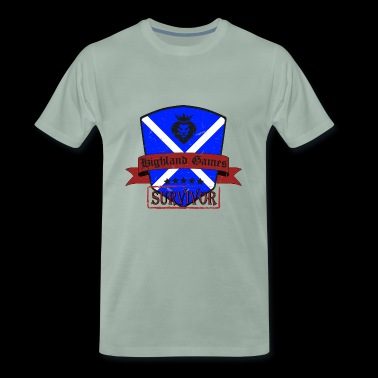 Scotland Highland Highland Games Festival - Men's Premium T-Shirt