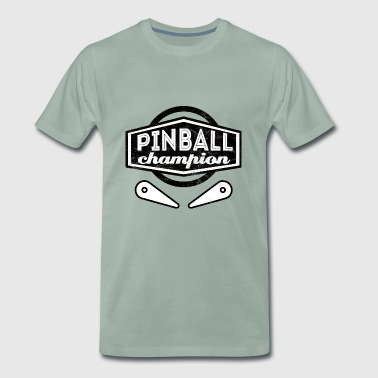 Pinball - Kicker - Football - Gift - 80s - Men's Premium T-Shirt
