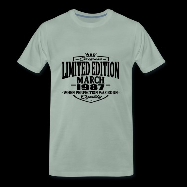 Limited edition march 1987 - Men's Premium T-Shirt