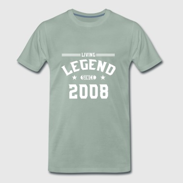 Levande legend sedan 2008 - Premium-T-shirt herr