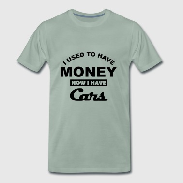I used to have cars - Men's Premium T-Shirt