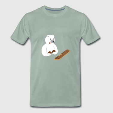 ours gourmand - T-shirt Premium Homme
