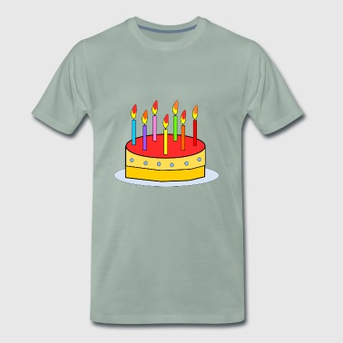 Kid Birthday Cake - Men's Premium T-Shirt