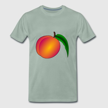 Nectarines pêche pêches nectarines fruits obst2 - T-shirt Premium Homme