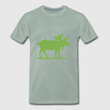 Moose Norway Sweden Finland Scandinavia - Men's Premium T-Shirt