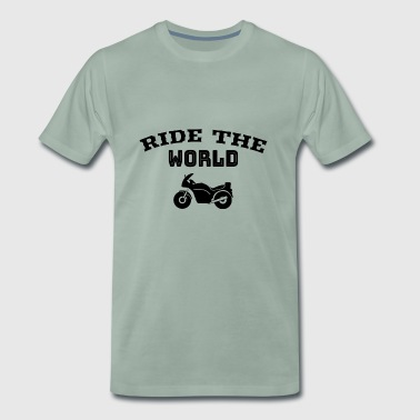 Ride the World | motor Racing - Mannen Premium T-shirt
