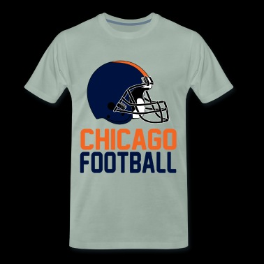 casque Chicago - T-shirt Premium Homme