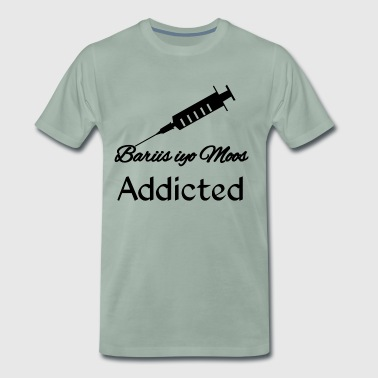 Bariis iyo moos addicted - Premium T-skjorte for menn