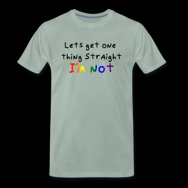 Im not - Men's Premium T-Shirt