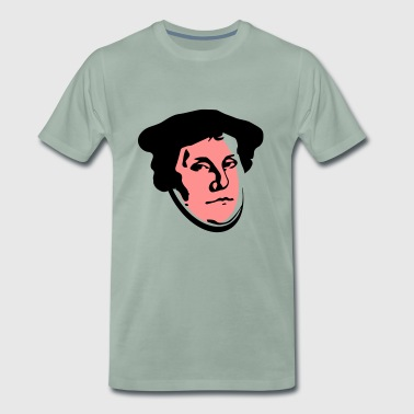 Martin Luther art - Men's Premium T-Shirt